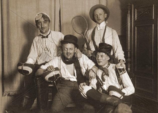 Studentenverbindung 1914