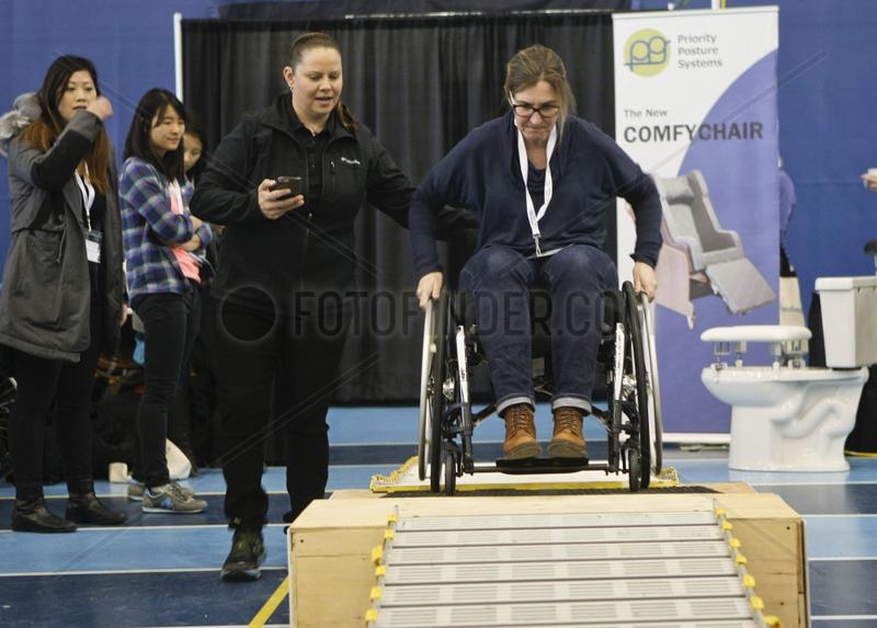 CANADA-VANCOUVER-REHAB EQUIPMENT-EXPO