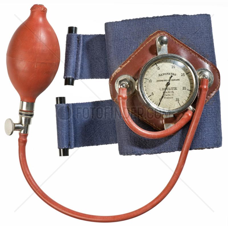 Blutdruckmessgerat,  Frankreich,  1935