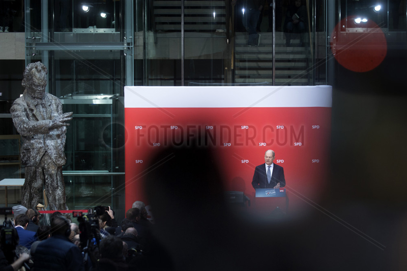 Olaf Scholz,  SPD Announces Voter Result Over Coalition Contract
