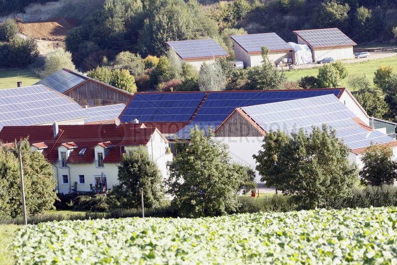 Solardaecher in Bayern