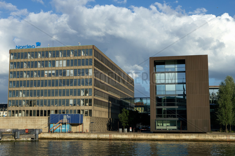 Kopenhagen,  Daenemark,  die Zentrale des schwedischen Finanzkonzerns Nordea