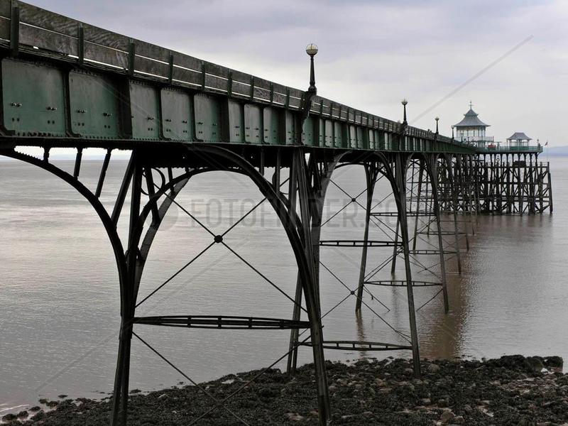 Pier von Clevedon,  Somerset,  England