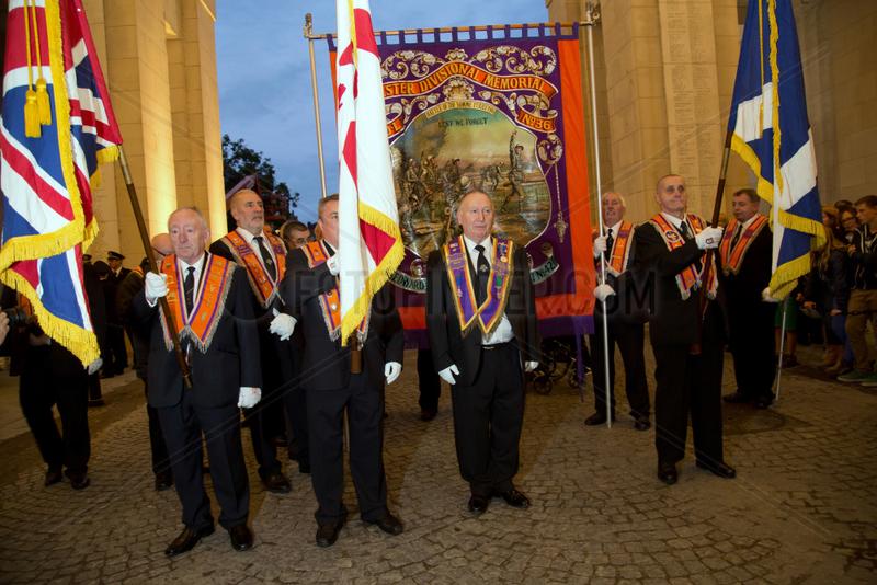 Ypern,  Belgien,  The Last Post-Zeremonie am Menenpoort