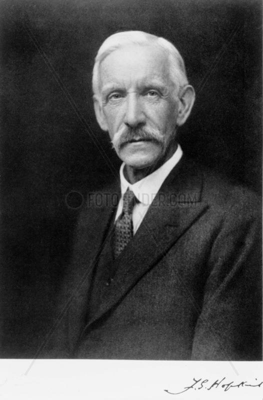 Sir Frederick Hopkins,  English biochemist,  early-mid 20th century.