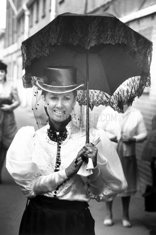 Ascot fashion,  June 1983.