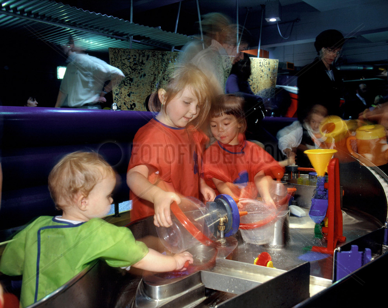 The Water Zone in The Garden,  Science Museum,  London,  October 2000.