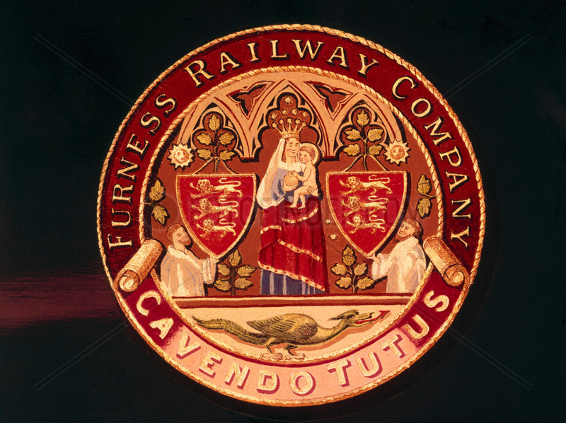 Coat of arms of the Furness Railway.