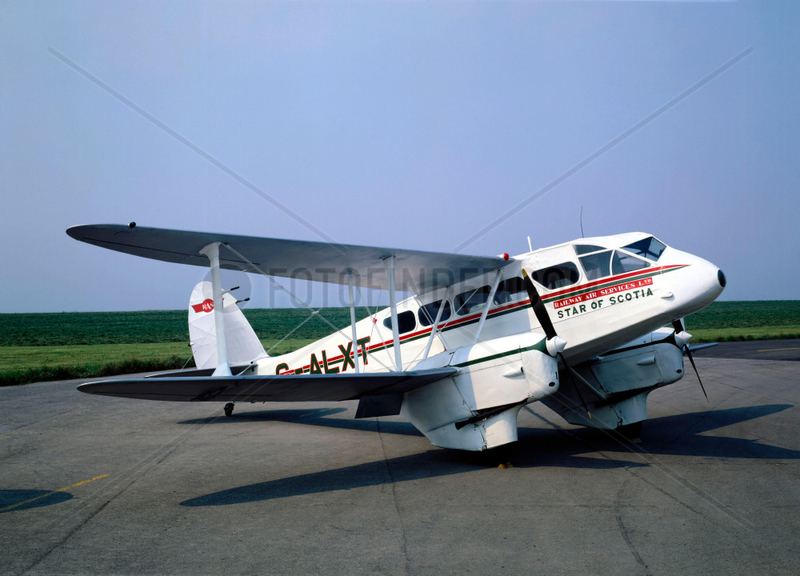 De Havilland DH89 Dragon Rapide Aircraft,  1944.