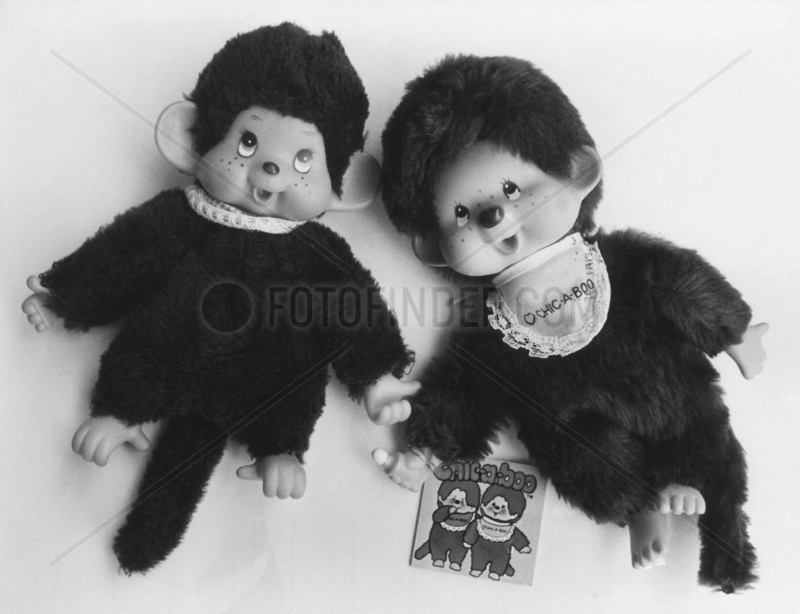 Real and fake Chic-a-Boo toys,  May 1981.