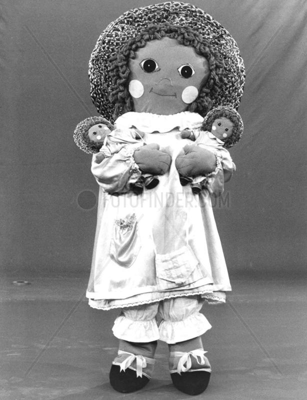 Rag dolls,  June 1982.