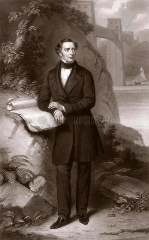 Robert Stephenson,  English mechanical and civil engineer,  1849.