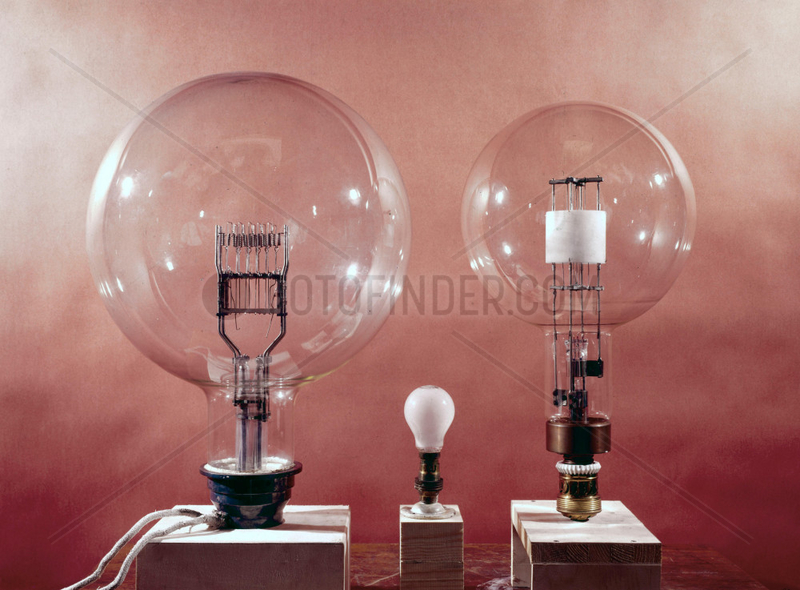 Electric lighthouse lamps,  1949.
