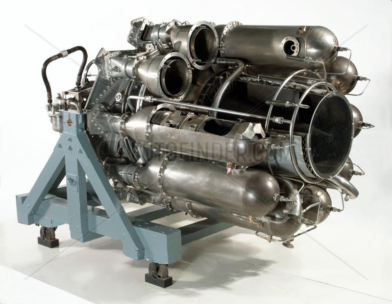 W2/700 Turbojet engine,  1944.