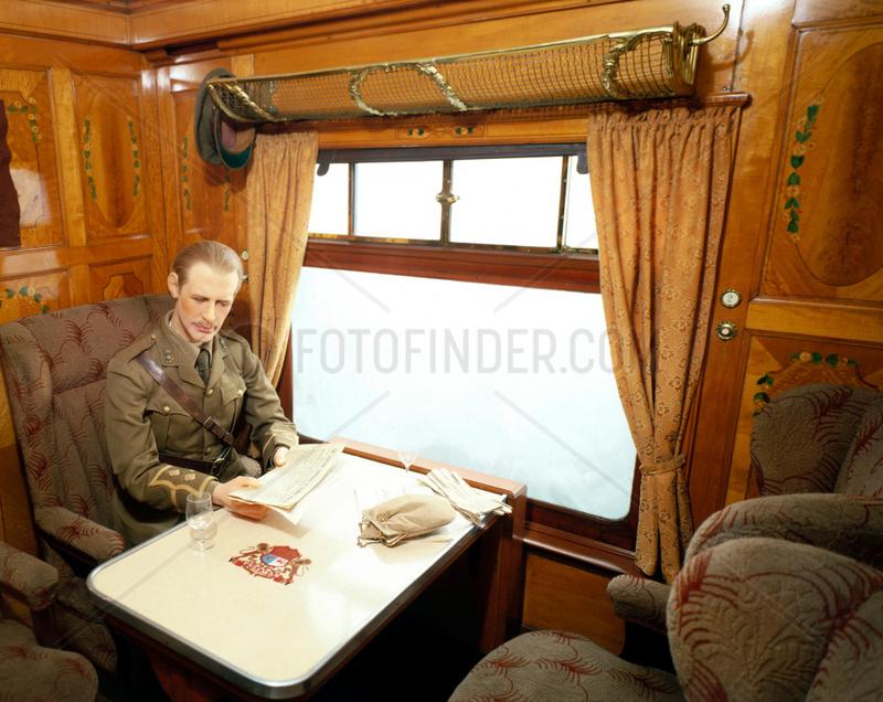 'Topaz' first class parlour car,  Pullman Ca