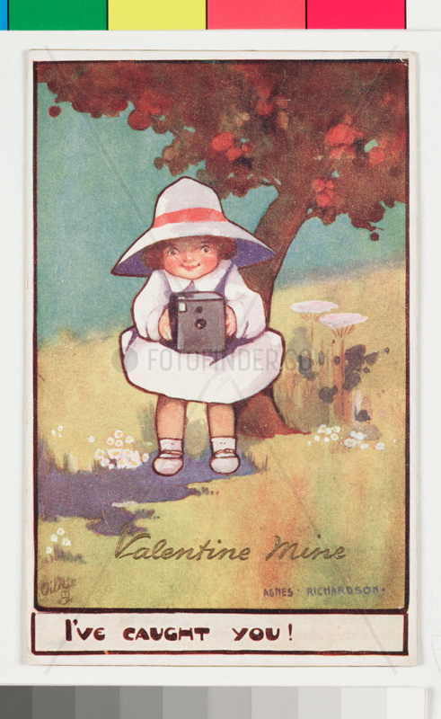 'Valentine Mine',  Kodak advertisement,  c 1903.