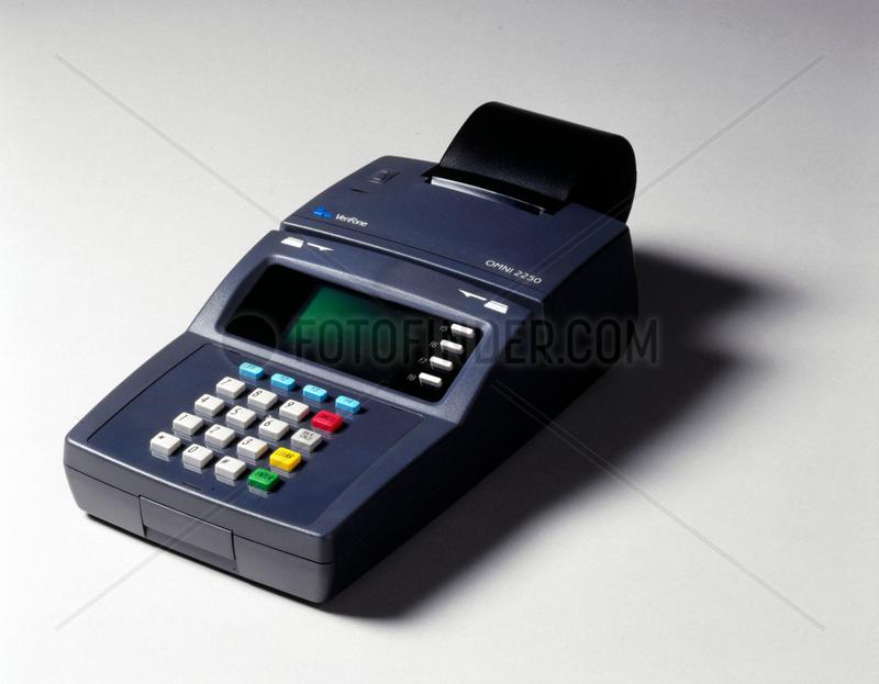 Electronic fund transfer machine,  1998.