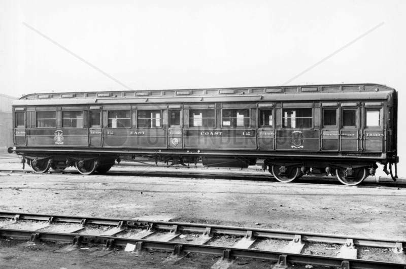East Coast Joint Stock third class carriage