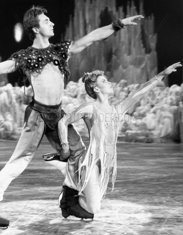 Torvill and Dean,  British ice-skaters,  1986.