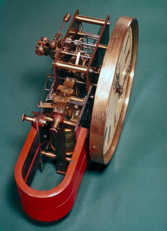 Electric master clock,  1900.