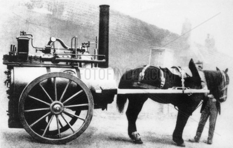 Portable Parsons turbo-generator,  1885.