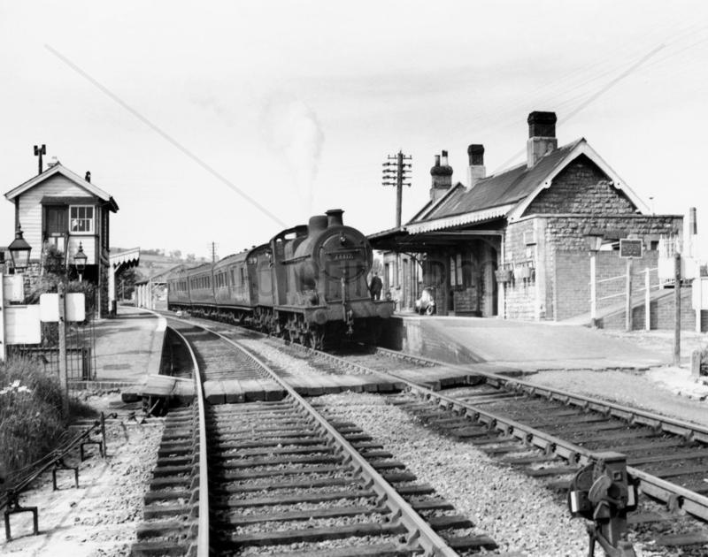 Evercreech New Station,  Somerset,  23 May 19
