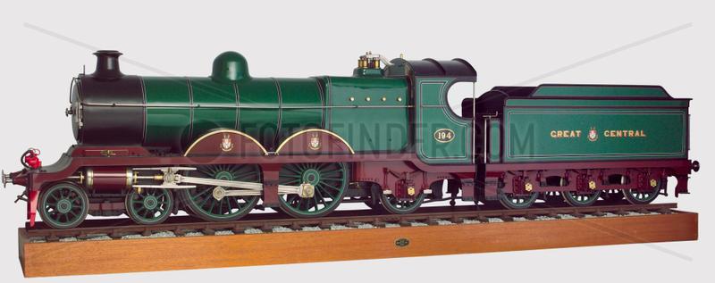 'Atlantic' Express locomotive,  1903.