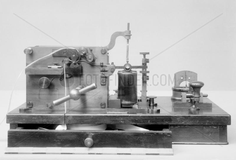 Siemens morse receiver,  1862.