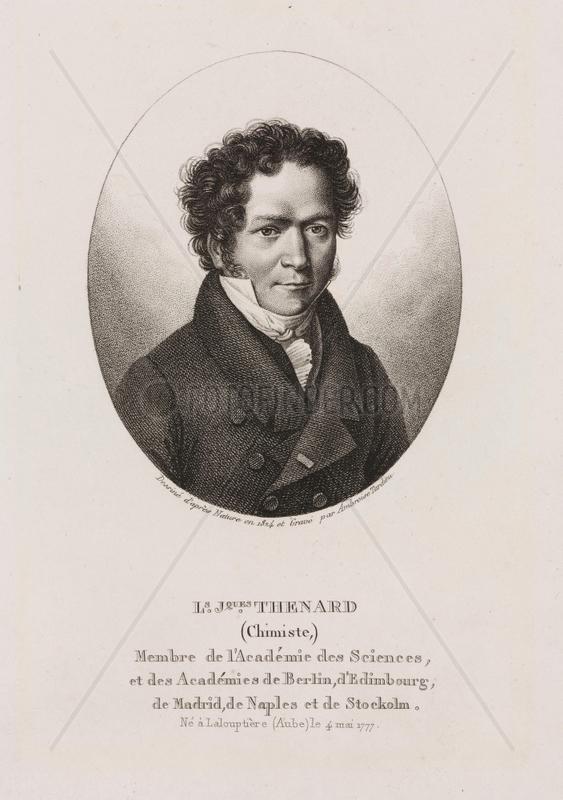 Louis Jacques Thenard,  French chemist,  1824.