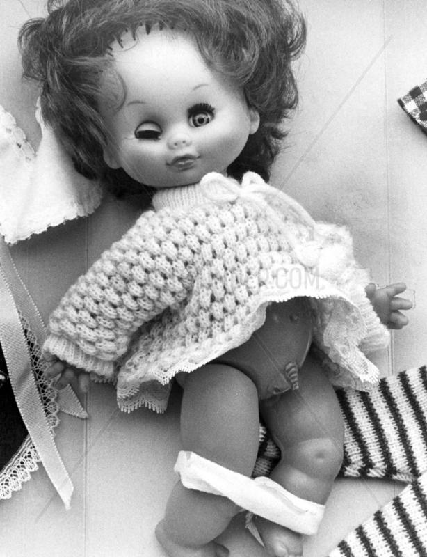 'Transvestite' doll,  December 1979.