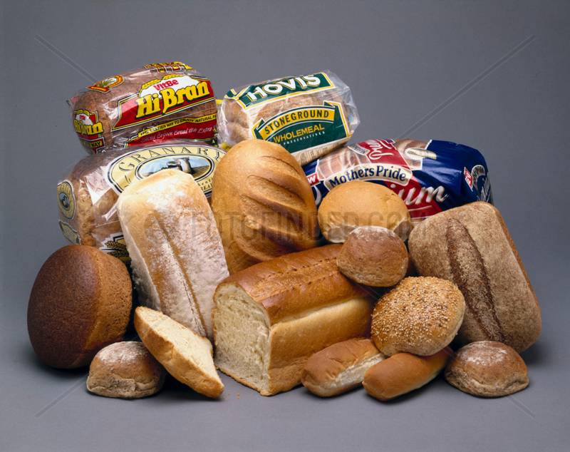 Loaves of bread,  1990s.