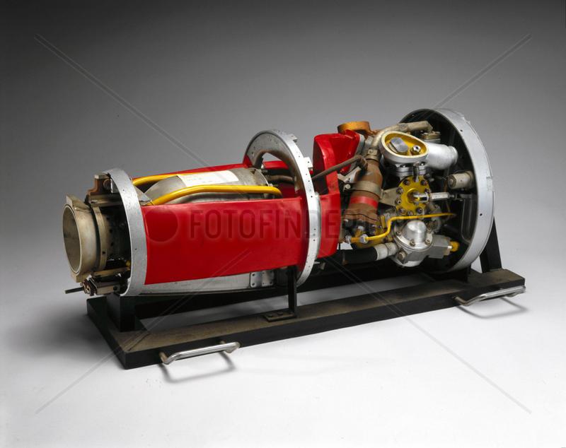 Beta 2 rocket engine,  1948-1953.