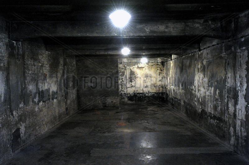 Auschwitz,  Polen,  Gaskammer des Konzentrationslager Auschwitz-Birkenau
