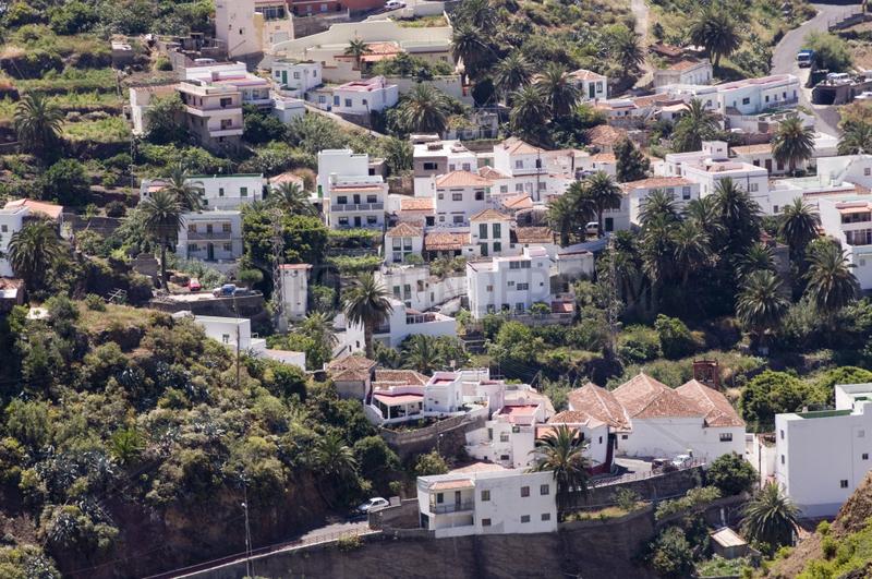 Almaciga,  Spanien,  Blick auf Almaciga
