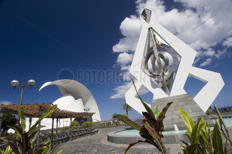 Santa Cruz,  Spanien,  das Auditorio de Tenerife