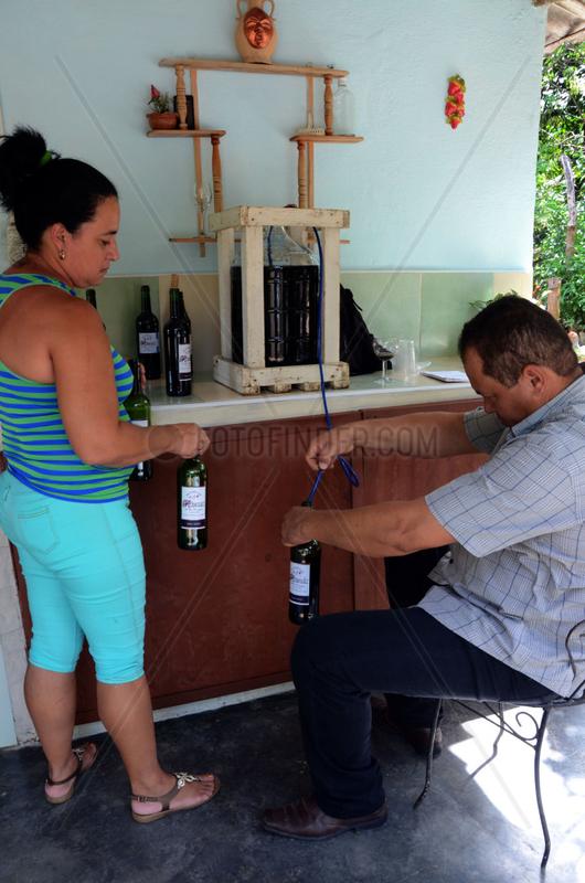 CUBA-CIENFUEGOS-INDUSTRY-WINE-FEATURE