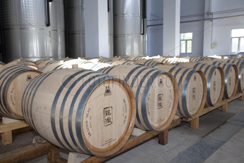 Weinproduktion Dragon Seal nahe Beijing