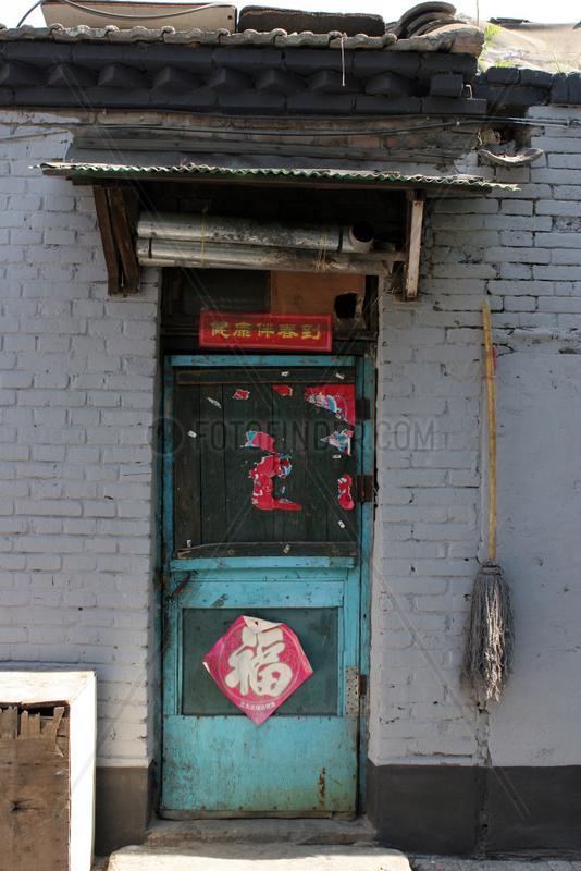 Beijing,  Hutong,  Alltag,  Verfall