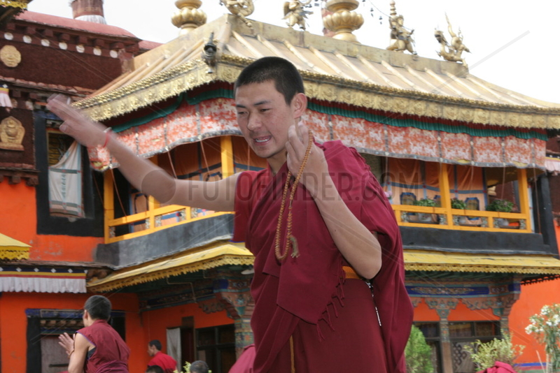 Tibet,  Lhasa,  Jokhang Tempel