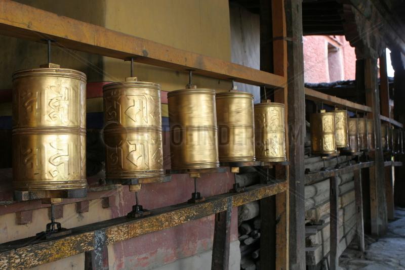 Tibet,  Trandruk Kloster