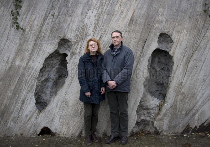 Victor and Marina Kalashnikov,  former KGB agent
