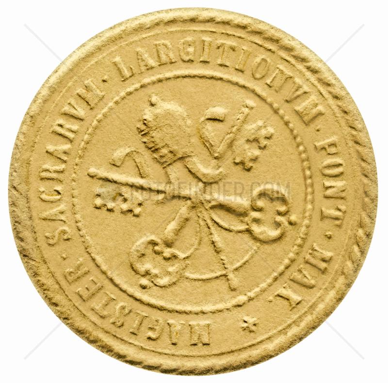 Siegel Vatikan,  Vatikanwappen,  um 1932