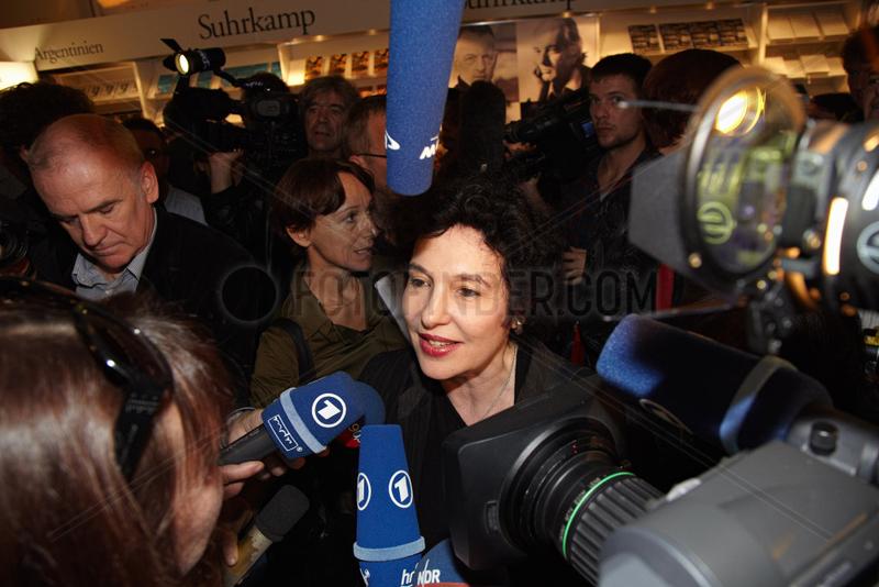 UNSELD-BERKEWICZ,  Ulla - Buchmesse Frankfurt 2010
