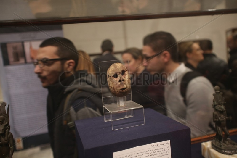EGYPT-CAIRO-EGYPTIAN MUSEUM-EXHIBITION