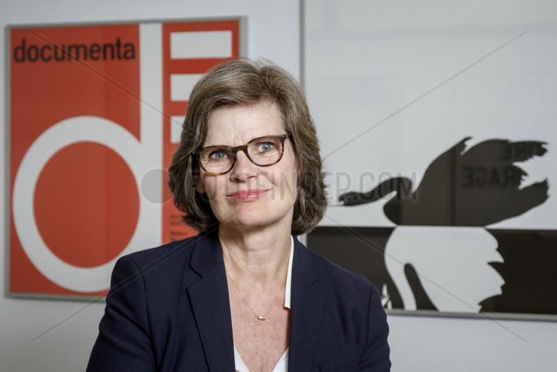 Annette Kulenkampff,  Geschaeftsfuehrerin der documenta