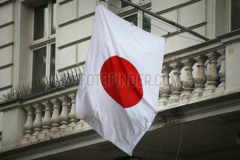 Fahne von Japan