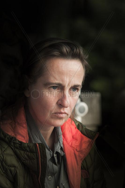 MINARD,  Celine - Portrait of the writer