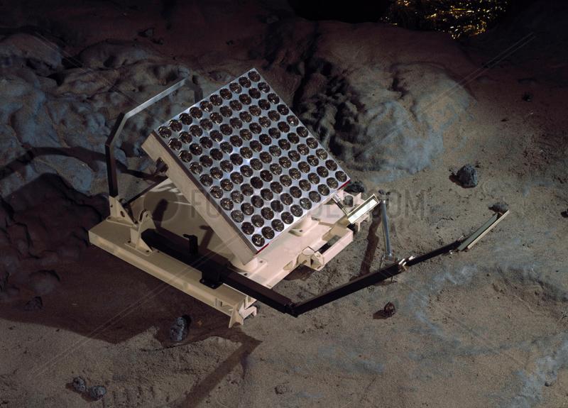 Apollo 11 laser retro-reflector,  1969.