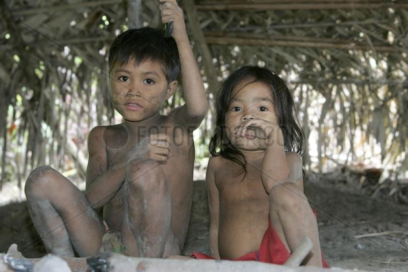 Children Tau't Batu Palawan Philippines
