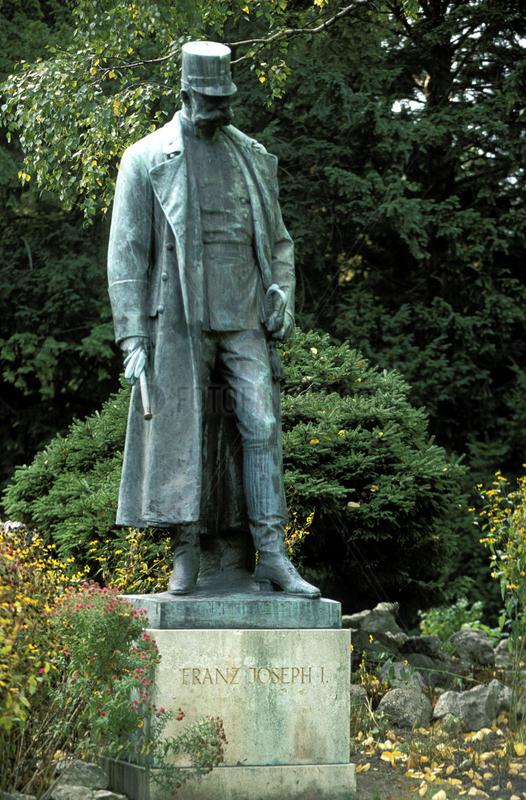 Vienna,  statue of kaiser Franz Joseph I